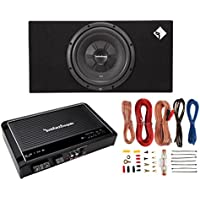 NEW Rockford Fosgate R2S-1X12 12 500W Subwoofer + Enclosure + Mono Amp + Wiring