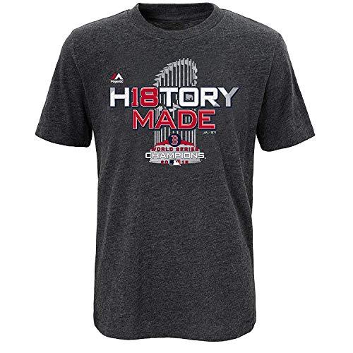 Majestic Boston Red Sox 2018 World Series Champions Youth T-Shirt (Small 8)