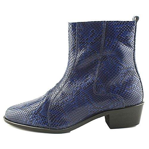 Stacy Adams Stabler Mens Boot Blu Scuro