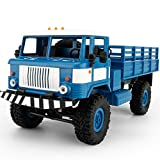 Besde Toy Military Truck Wireless Remote Control Car Toy (blue, WPL B-24 1:16)