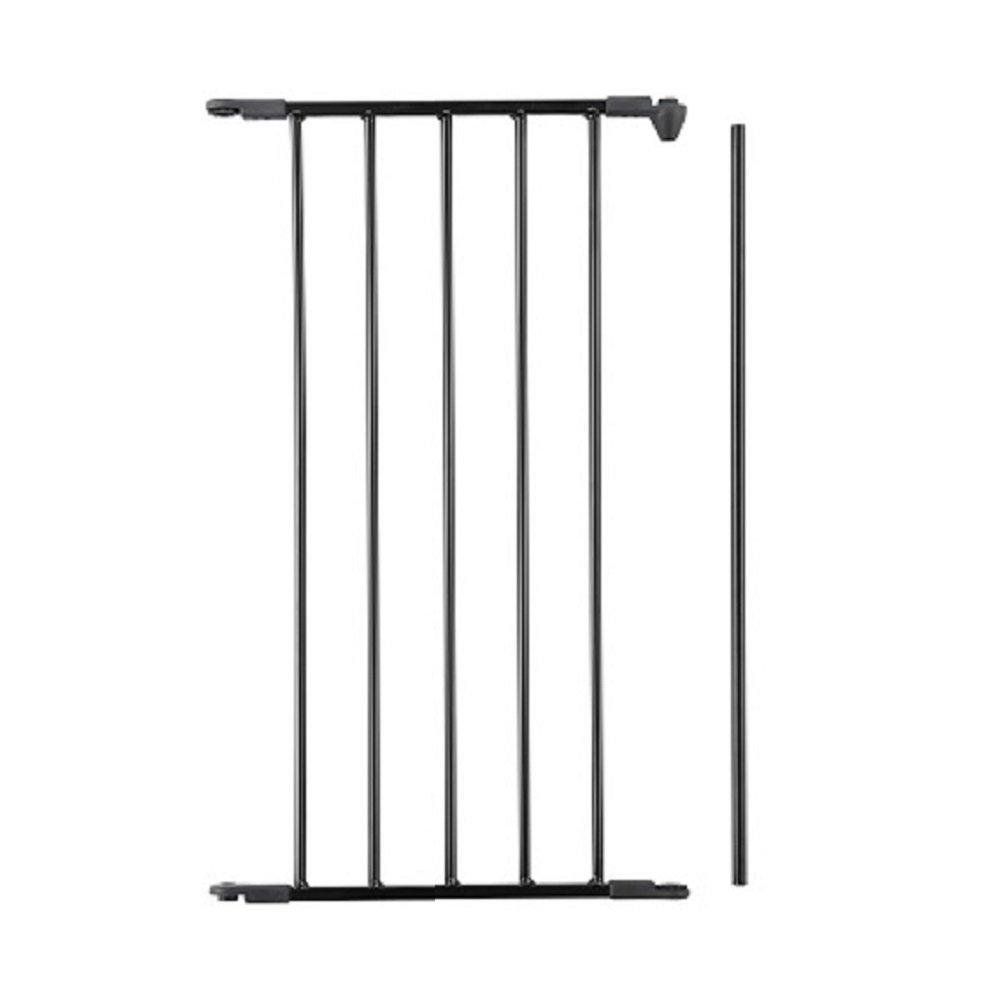BabyDan Extension de barrière Noir 46cm