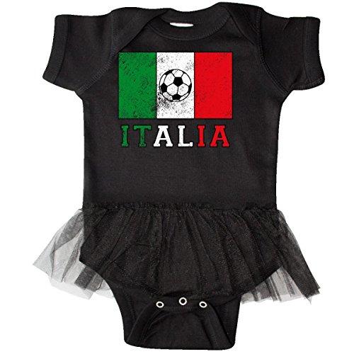 Tulle Italian (inktastic Italian Soccer Infant Tutu Bodysuit 6 Months Black 2e0d2)