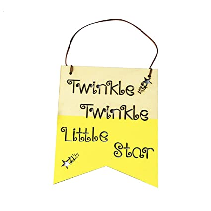 Amazon.com: Little rock Nordic Style Hollow Letters Craft Tags ...