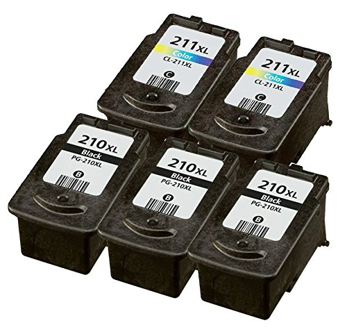 OCProducts Refilled Canon 210XL 211XL Ink Cartridge Repla...