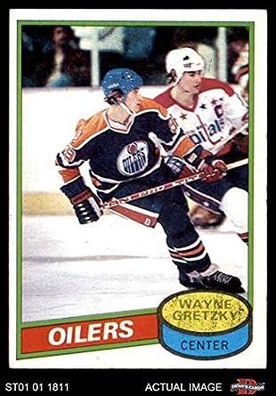 Amazoncom 1980 Topps 250 Wayne Gretzky Edmonton Oilers