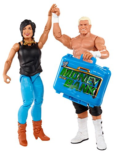 WWE Battle Pack Dolph Ziggler vs. Vickie Guerrero Action Figure, 2-Pack by WWE