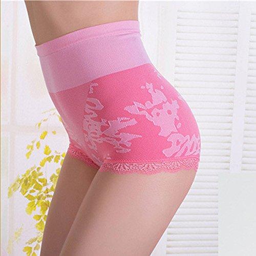 Ventre Taille 60 Culotte Gainante Pastèque Femme Acvip Haute String Sexy Sous Couleurs vêtements 5 74 Dentelle Cm Rouge IAqqwWPXvx