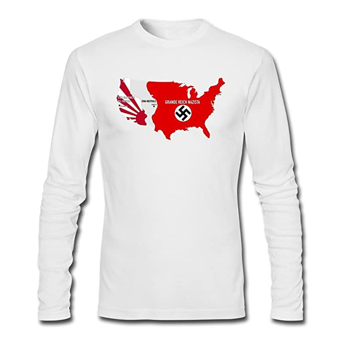 GGMM Men's The Man in the High Castle USA Map Long Sleeve T ... on man in the girls, man in the hut, man in the house, man in the table, man in the airport, man in the community, man in the hall, man in the arena, man in the star, man in the green,