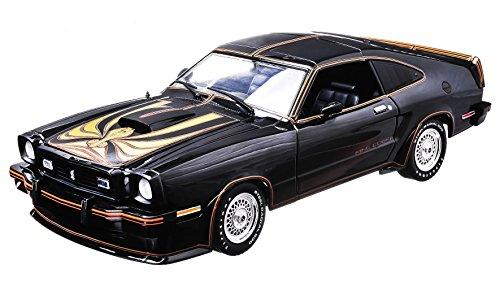 1/18 Ford - 1978 Ford Mustang II Kong Cobra (ブラック×ゴールド) 12878