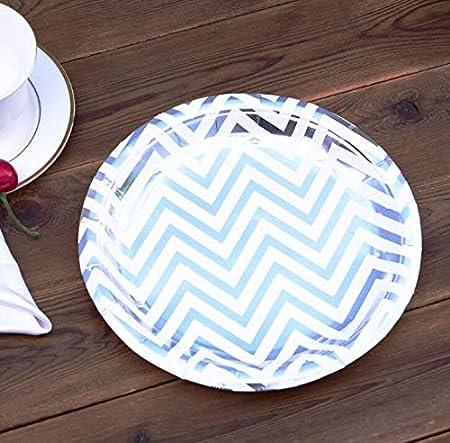 Diez platos desechables de cumpleaños de 18 cm, platos de ...