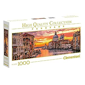 Clementoni Collection Panorama Puzzle The Grand Canal Venice 1000 Pezzi 39426