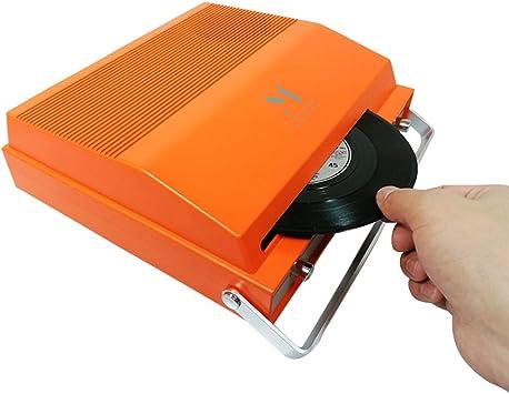 MPK Reproductor de grabación portátil con Ranura para Vinilo de 7 ...