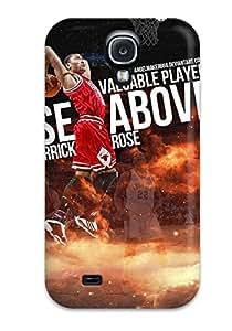 Galaxy S4 Case Cover Skin : Premium High Quality Derrick Rose Dunk Case