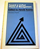 img - for Toward Unified Theory of Management book / textbook / text book