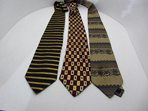 3-high-quality-silk-neck-ties-a0b72-todays-mens-perry-ellis-bill-blass