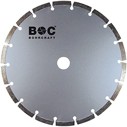 27400900180 Set of 1 Bohrcraft Basic Diamond Cutting Disc Segmented 180/mm in Box
