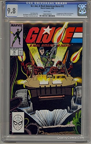 G.I. Joe A Real American Hero #72 CGC NM/M 9.8 White