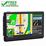 Car GPS, 7 inches 8GB Navigation System for Cars Lifetime Map Updates Touch