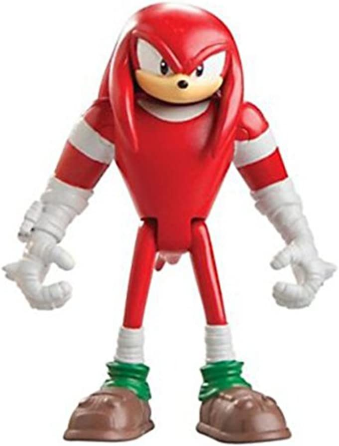 Amazon Com Sonic The Hedgehog Sonic Boom Knuckles 3 Action Figure Toys Games