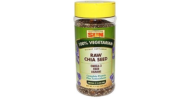 Prima la semilla de chía, 9.5 oz (269,3 g) - Salud de The Sun: Amazon.es: Salud y cuidado personal
