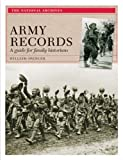Army Records, William Spencer, 1905615108