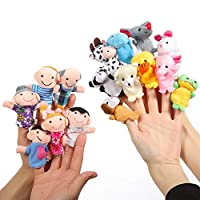 Twister.CK Animal Finger Puppets