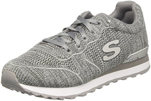 Silver Low Sneaker Og Grigio Flyers 85 Skechers Grey Donna qw8ZRE7xC