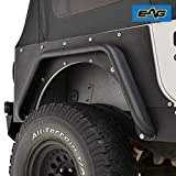 EAG Rear Corner Guard Rock Metal a Pair Armor for 87-96 Jeep Wrangler YJ
