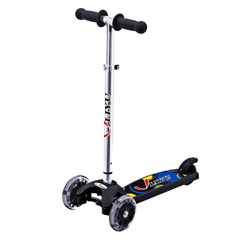 LIYU 1281F 3 Wheels Kids Mini Kick Scooter