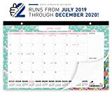 Lion Planner Wall Calendar 2019-2020 | Large Monthly Planning Wall Hanging Calendar 17x11 for Home, School, Office | Superior Ink Bleed Resistance Thick Paper | July 2019 - December 2020