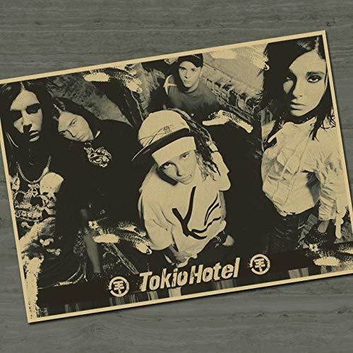 Vintage Tokio Hotel Alemania Música Banda de Rock viejo ...