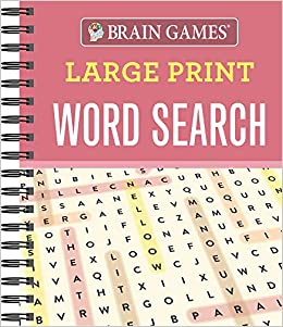 image about Large Printable Word Search known as Head Game titles - Higher Print Phrase Glance: Guides