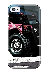 Awesome Case Cover/iphone 4/4s Defender Case Cover(hummer Anime Girls Cars)