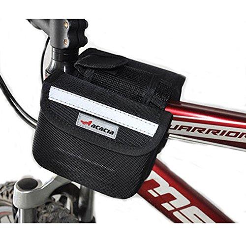 USA Bike Bicycle Cycling Mountain Frame Front Tube Pannier Saddle Bag Tube Pouch