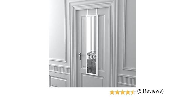 Habita Home Espejo DE Puerta Blanco 36.4x126 Color Blanco: Amazon ...