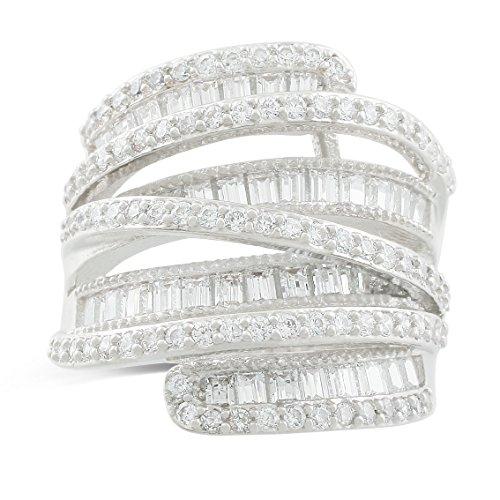 JanKuo Jewelry Rhodium Plated