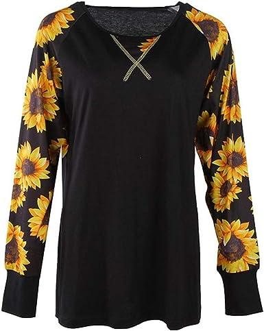 Boutique Sale Camiseta de mujer Blusas estampadas de manga ...