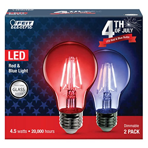 Led Light Bulbs Red Blue in Florida - 2