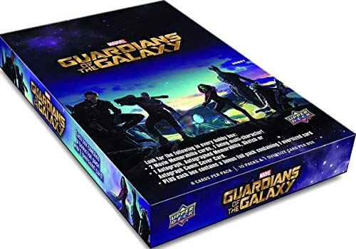 - Upper Deck Guardians of The Galaxy Movie Trading Cards Factory Sealed Hobby Box