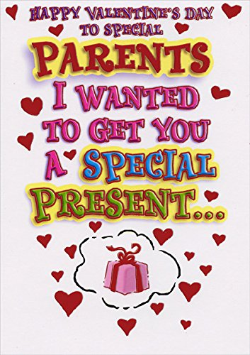 Amazon special presents parents designer greetings funny special presents parents designer greetings funny valentines day card m4hsunfo