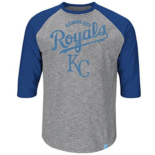 Kansas City Royals Schnell Win 3Quarter Sleeve T-Shirt