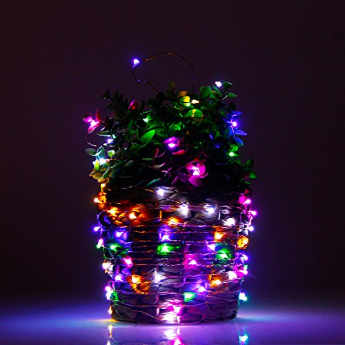 USA free shipping Albrillo Starry String Lights Battery Multi Color 33ft 100 LEDs 11street ...