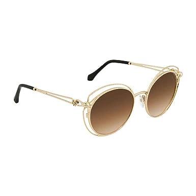 88674d666a Roberto Cavalli RC1030 Cascina Sunglasses 55 28G Shiny Rose Gold ...
