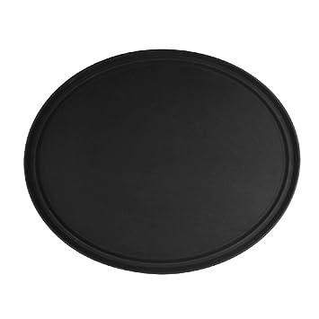 """Antideslizante bandejas para servir ovalado bandeja 22 """"x 27"""" negro o marrón NSF"""
