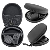 JH Replacement Hard Back Carry Case Travel Storage Box Bag for Bose Quietcomfort 15 Qc25 Qc 2 Qc15 Tp-1 Ae2 Ae2i Soundtrue Headphone