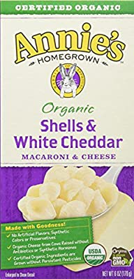 Annie's Organic Shells & White Cheddar Macaroni & Cheese (12 ct.)