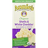 Annie's Organic Shells & White Cheddar Macaroni & Cheese, 12 Count, 72 Oz