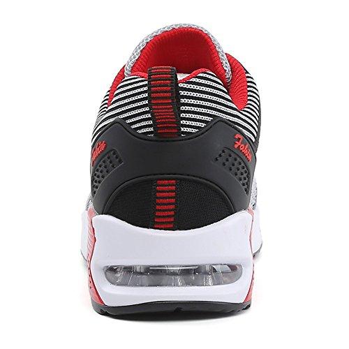 Jogging da Sportive da Unisex Gray Air Ginnastica da Black Sneakers Shock Running Anti Ginnastica Scarpe da Corsa Scarpe Donna Sports wZqXwUOTxd