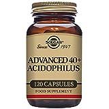 vita advanced probiotic - Solgar Advanced 40 Plus Acidophilus 120 Vegetable Capsules