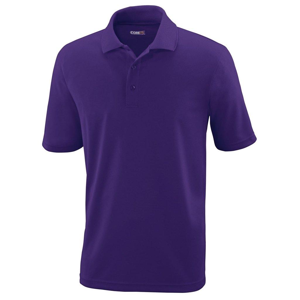 Ash City Mens Origin Polo Performance Shirt (XXX-Large, Campus Purple) by Ash City Apparel